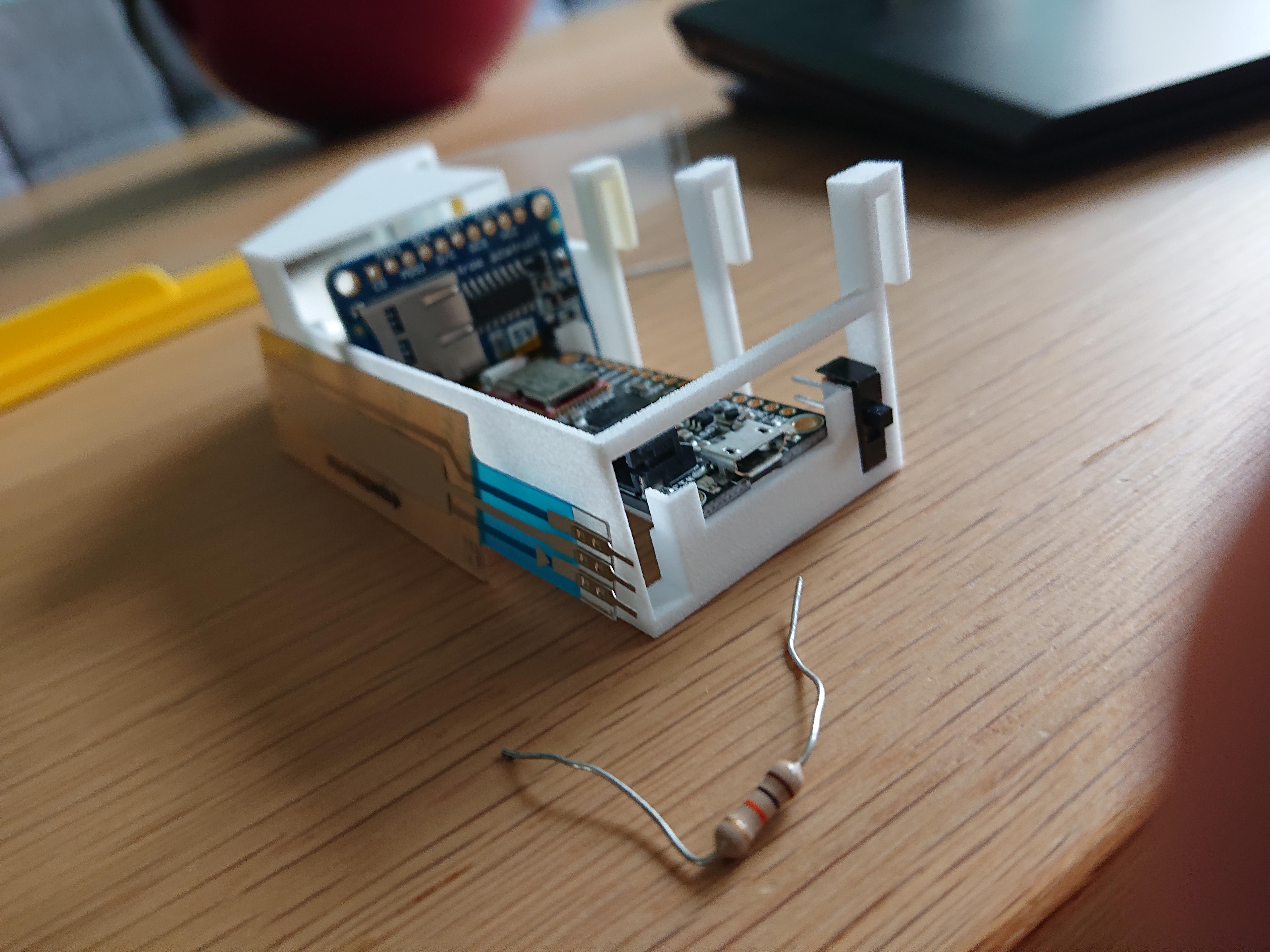3D ontwerp AR opzetstuk 3D geprint